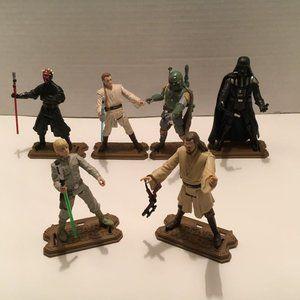 Star Wars Action Figures (6) 2011